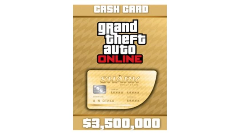 GTA Online Shark Cards 3,5 Millions