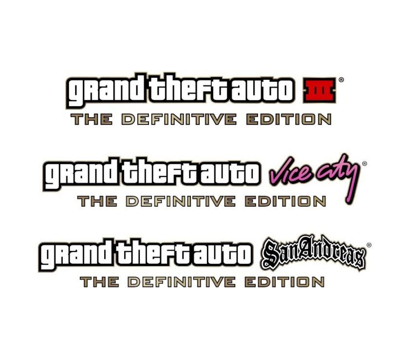 Logo GTA The Definitive Editon