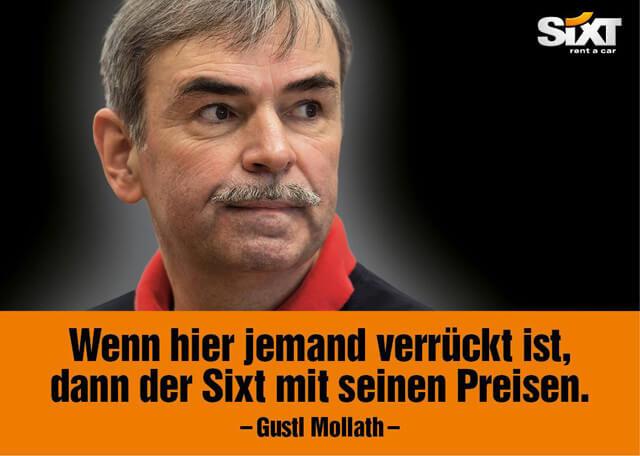 Sixt ist verrückt, Gustl Mollath nicht - rockster.tv