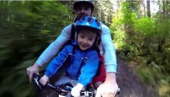 Father and Son - Mountain Bike Fun