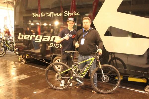 """Essen Fahrradmesse 2015 - eMountainbike Contrail C 6.0 29"""" von Bergamont"""