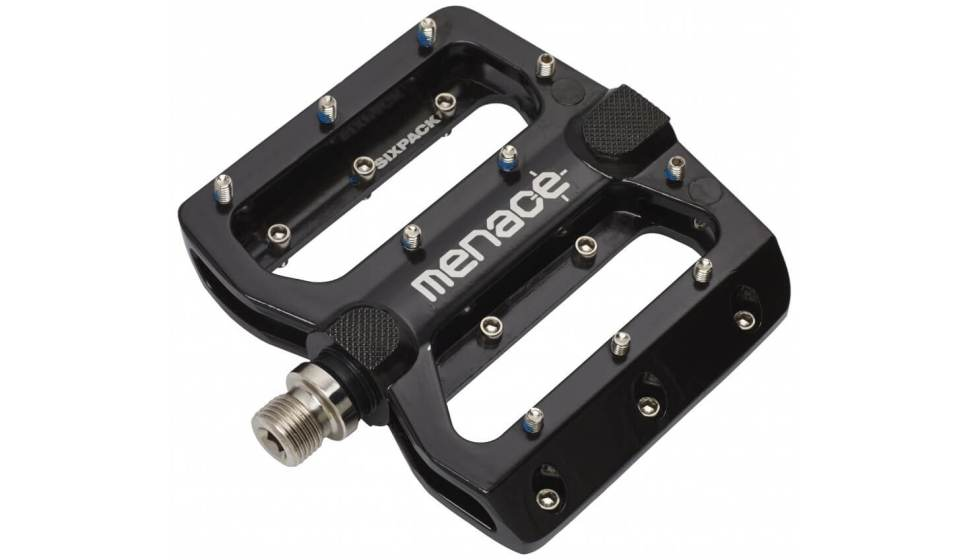 Sixpack Menace Pedal in schwarz