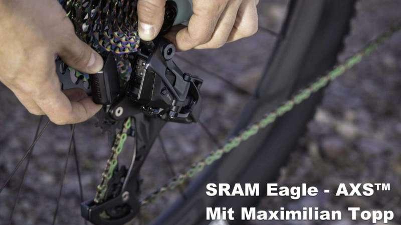 SRAM Eagle AXS™ mit Maximilian Topp