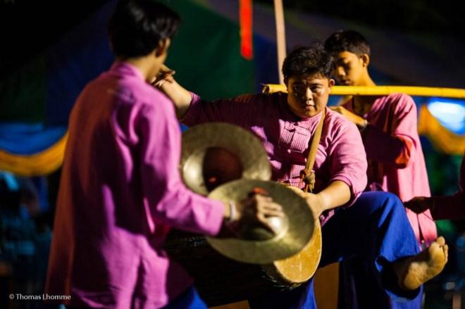 Célébration et musique traditionnel