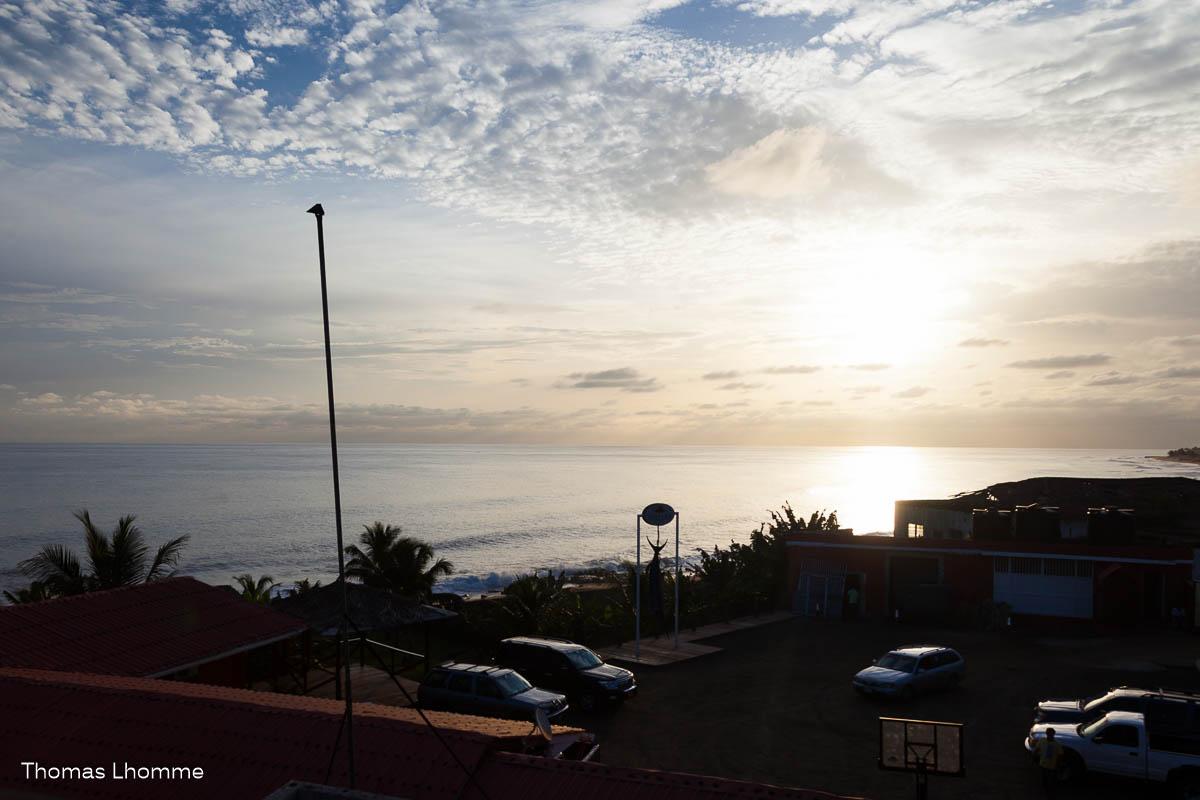 Une vue pas trop degeu sur les côtes du liberia.