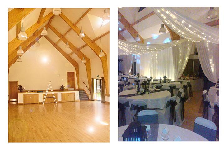 chair covers for weddings revolving jodhpur the room dresser. rock village hall. bewdley, kidderminster, worcestershire. enchanting wedding ...