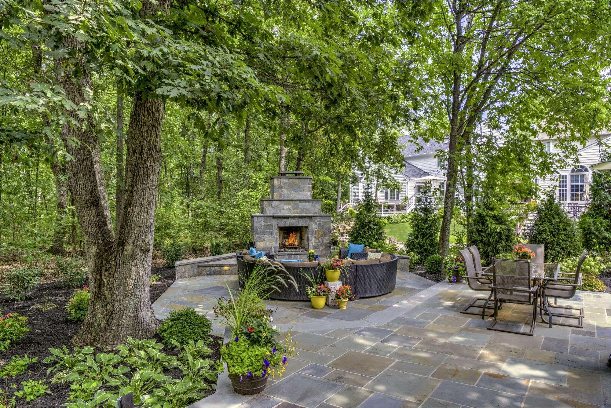backyard privacy using fences plants