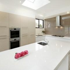 Corian Kitchen Sinks Sink Basin Vicostone Onyx White Bq2088 - Rock With Us