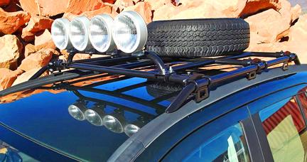 rocky road roof rails