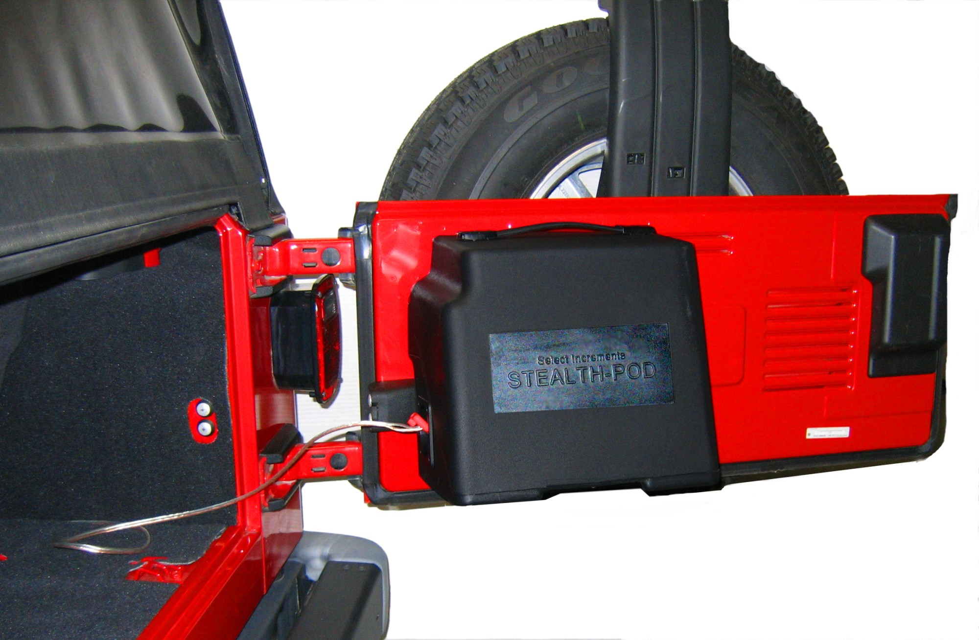 hight resolution of stealth pod jeep speakers