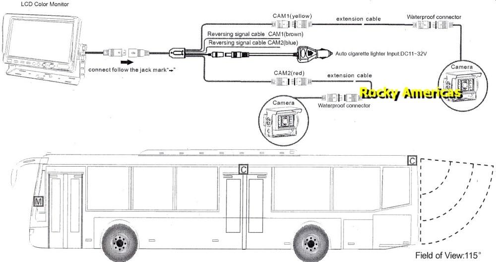 medium resolution of wiring diagram rear view mirror backup camera rear view camera diagram