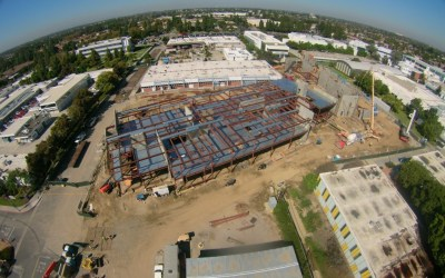 Cerritos College Aerial Progress 9.18.15