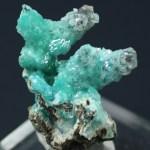 Calcite on Aurichalcite, Southwest Mine, Bisbee, Cochise County, Arizona (BLM-22)