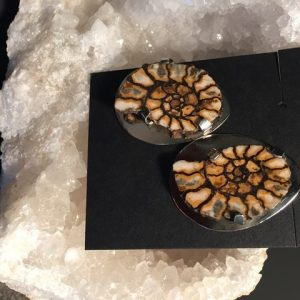 JS-57 Ammonite Earrings