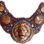 #69 lion collar – Copy