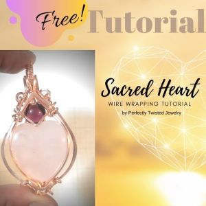 Free Wire Wrapping Tutorial – Wire Wrap and Wire Weaved Spheres!