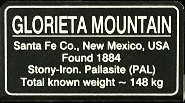 Glorieta Mountain Sign