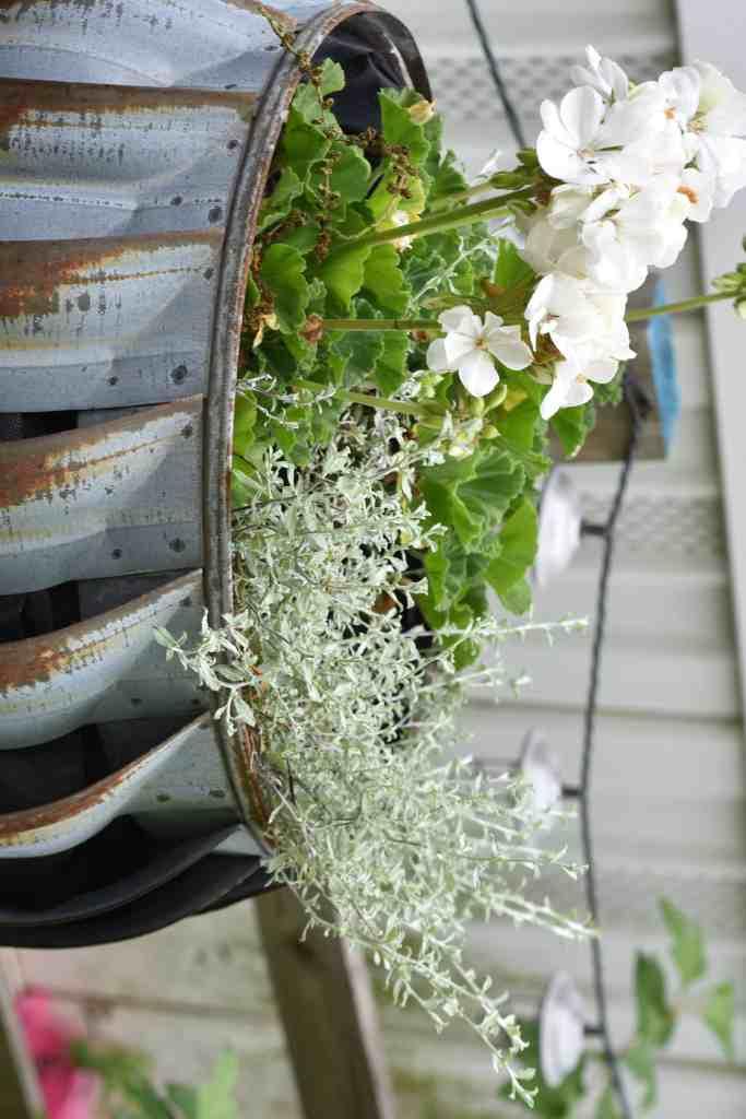 Vintage Garden Tub Planters
