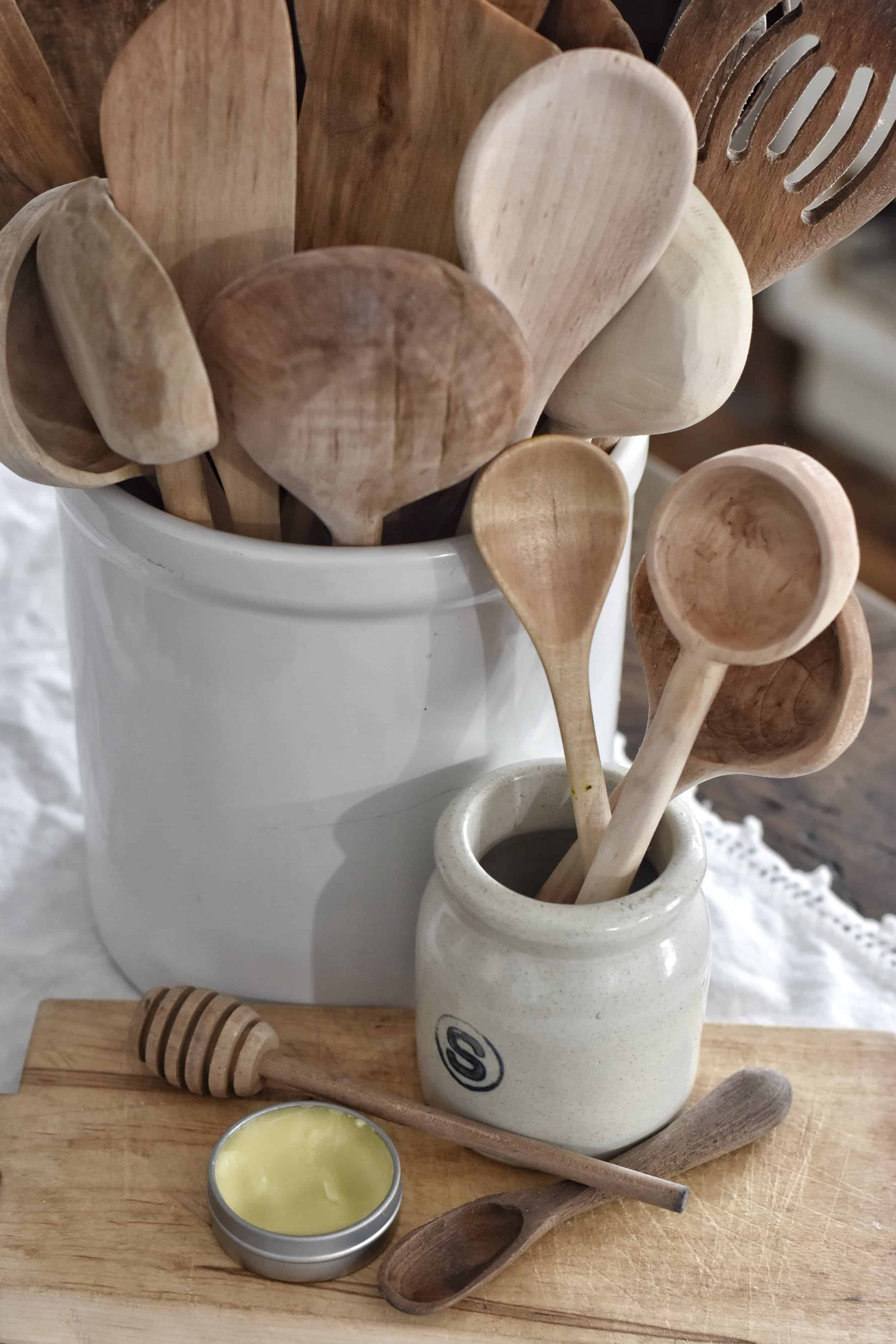 How to Treat Wooden Spoons
