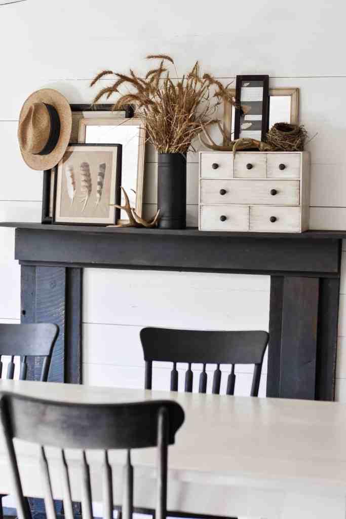 Rustic Fall Dining Room Decor