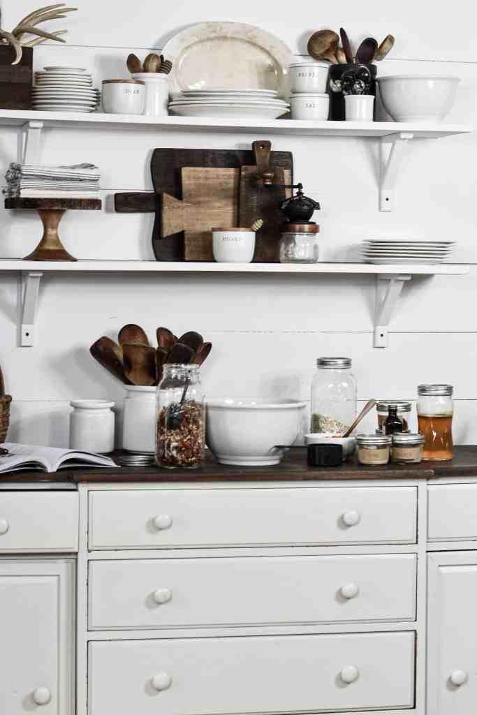 Farmhouse Style Rustic Kitchen