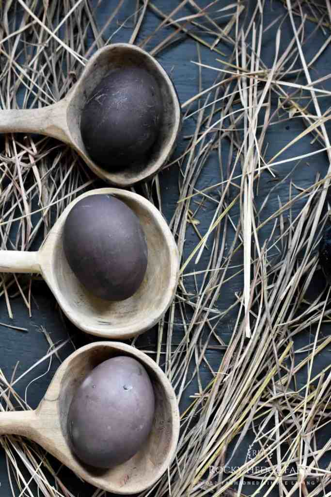 How to Dye Easter Eggs Purple