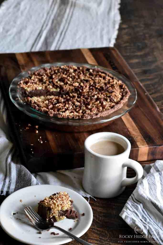 Easy Keto German Chocolate Pie Recipe