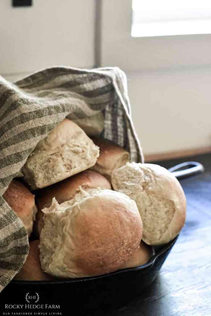 sweet sourdough dinner rolls