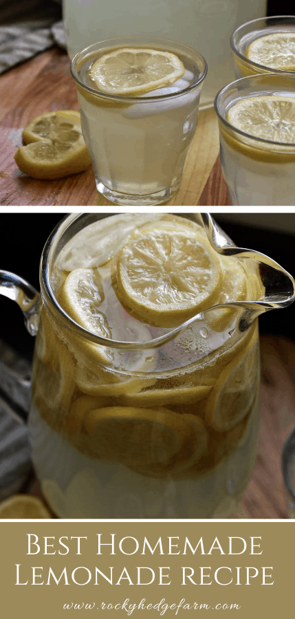 From Scratch Lemonade