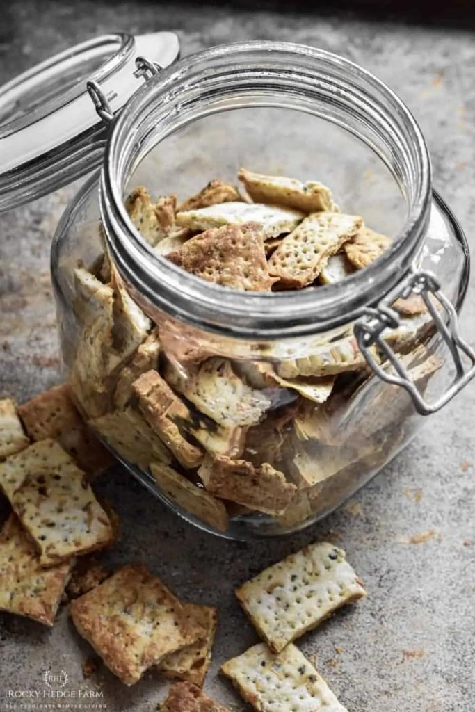 Sourdough Cracker Recipe