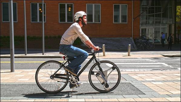 只要一分鐘 GeoOrbital Wheel就能把你的單車立即變成電動單車 1