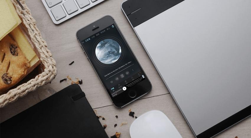 iOS線上免費音樂App推薦「手機音樂電台」 離線下載、歌詞功能、豐富歌單 1