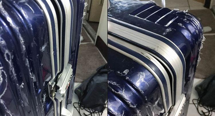 AOU 絕美時尚系列行李箱樂包網送修維修心得 滿分五顆星的溝通與服務 1