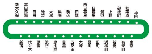 ROOTOTE 山手線手提袋聯名產品,日本東京伴手禮推薦選擇 8