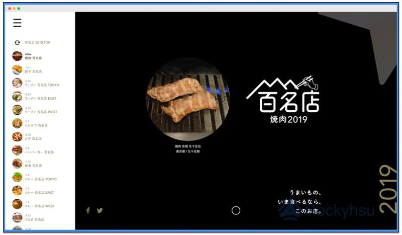 日本票選百名店 2019 燒肉、拉麵、串燒、餃子等餐廳百大排行榜 1
