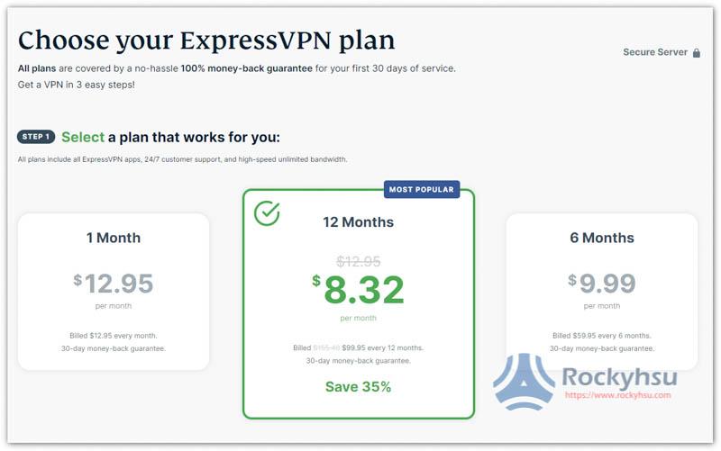 ExpressVPn 價格