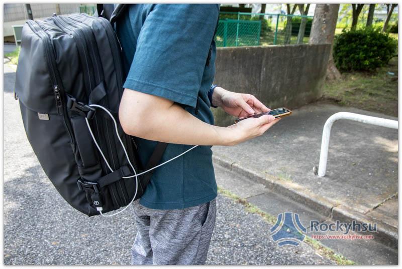 Nayo EXP 後背包 USB 充電