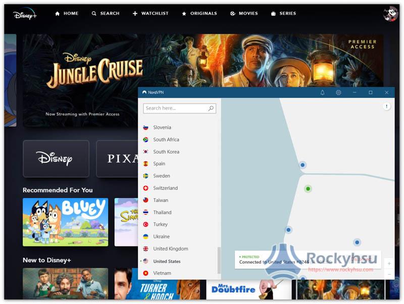 Disney+ VPN 推薦