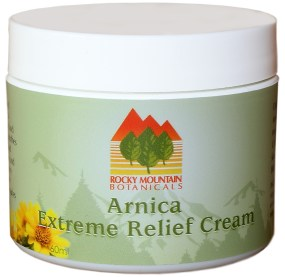 Arnica Extreme Pain Relief Cream by Rocky Mountain Botanicals, MSM. Arnica, fibromyalgia, chronic pain, natural pain relief, arthritis