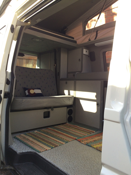 Rent a Volkswagen Eurovan Campervan Rocky Mountain