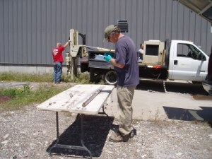 Logging Soil Cored from Geoprobe