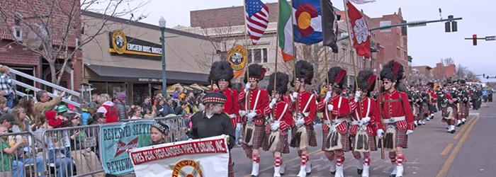 St. Patrick's Day in Colorado Springs