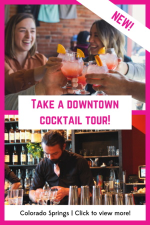 Springs Cocktail Food Tour Banner Ad