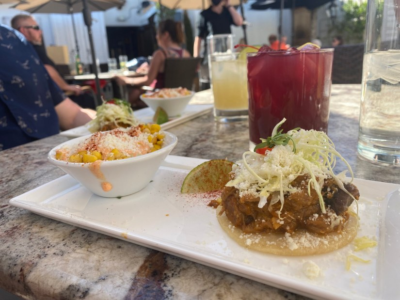 Tacos, Mexican Street Corn and Cocktails at The Mission © Rocky Mountain Food Tours