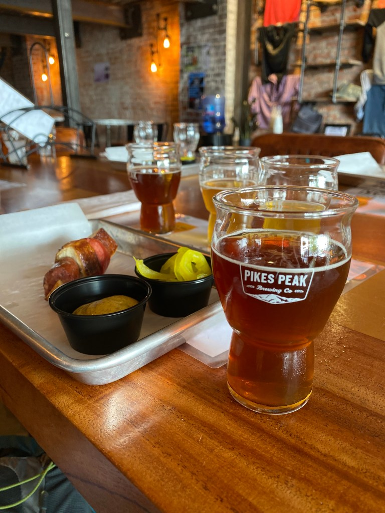 Pikes Peak Lager House   © Photo Copyrighted by Rocky Mountain Food Tours
