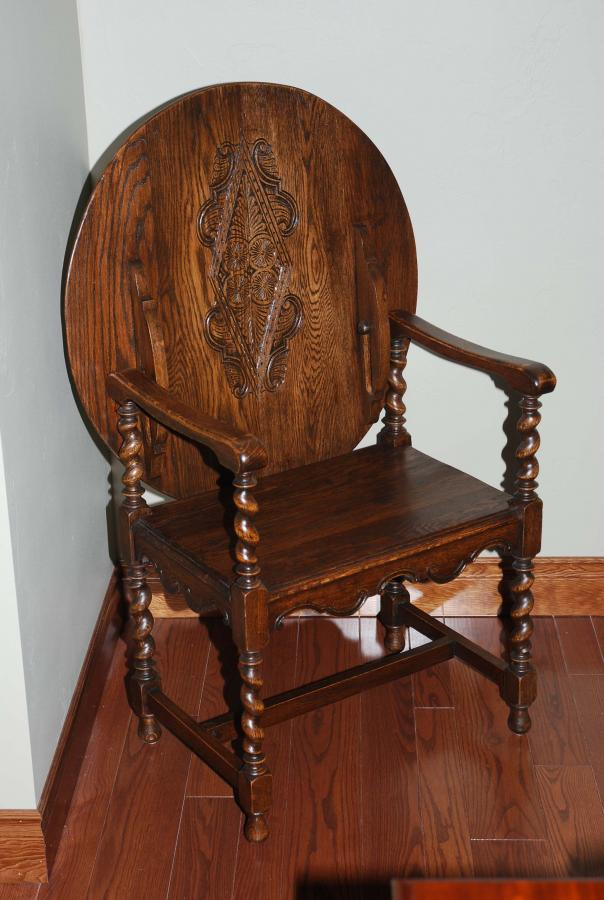 Reproduction Monks Chair  Rocky Mountain Furniture