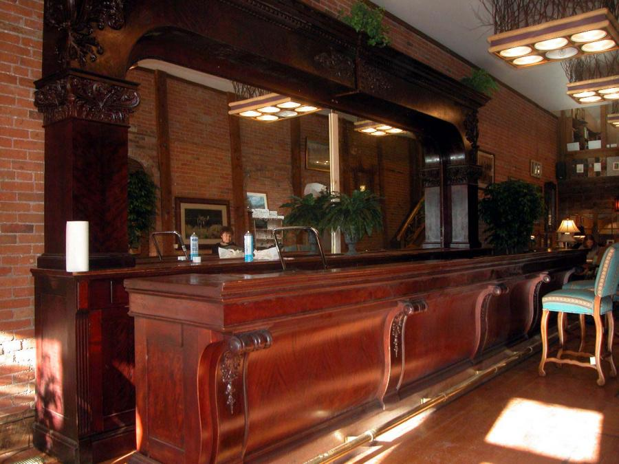19th Century Full Bar  Rocky Mountain Furniture