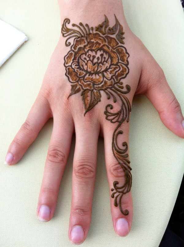 henna tattoos - chicago area face