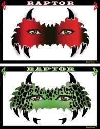 stencil - raptor