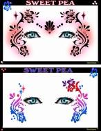 stencil - sweet pea
